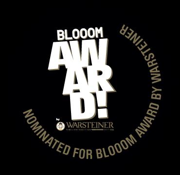 BlooomAward2015_Stempel_Nominated_02_schwarz